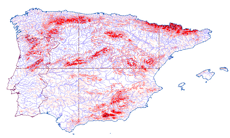Iberian Peninsula Map Outline Iberian Peninsula Map Outline